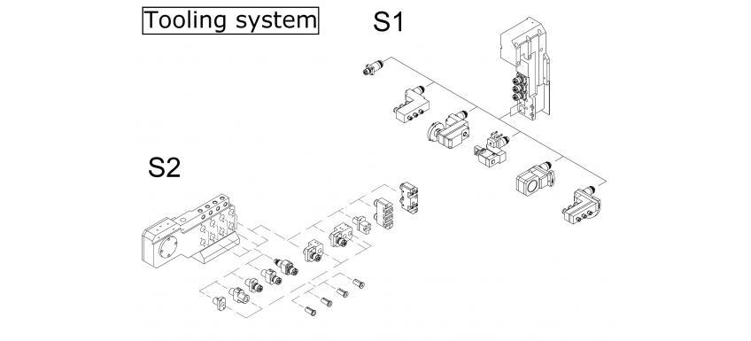 8 axis tooling system
